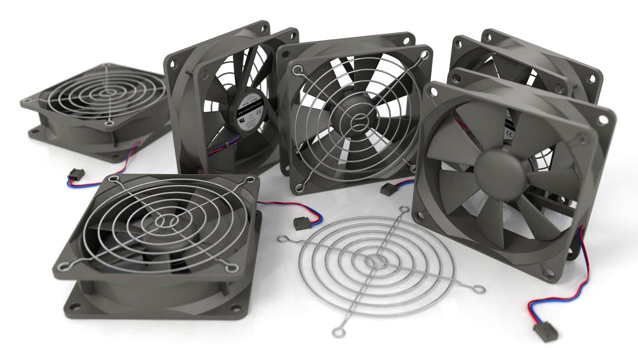 PC Fan Voltage Mod 12v to 24v 17v 10v 7v and 5v - YouTube