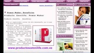 Power Maker Omnilife   Poderoso Regenerador Celular(Tonificante- Rigeneratore Cellulare del Sistema Strutturale ed Endocrino. Fornisce sostanze nutrienti e mezzi affinchè il corpo formi, regoli ed equilibri cellule, ..., 2013-03-17T15:54:34.000Z)
