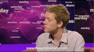 Owen Jones's car crash TV on BBC This Week, March 2012