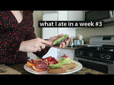 What I eat in a week (easy n vegan) #3