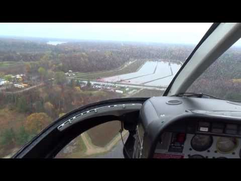 Bala Ontario cranberry festival and out 1st ride in a bell jetranger heli