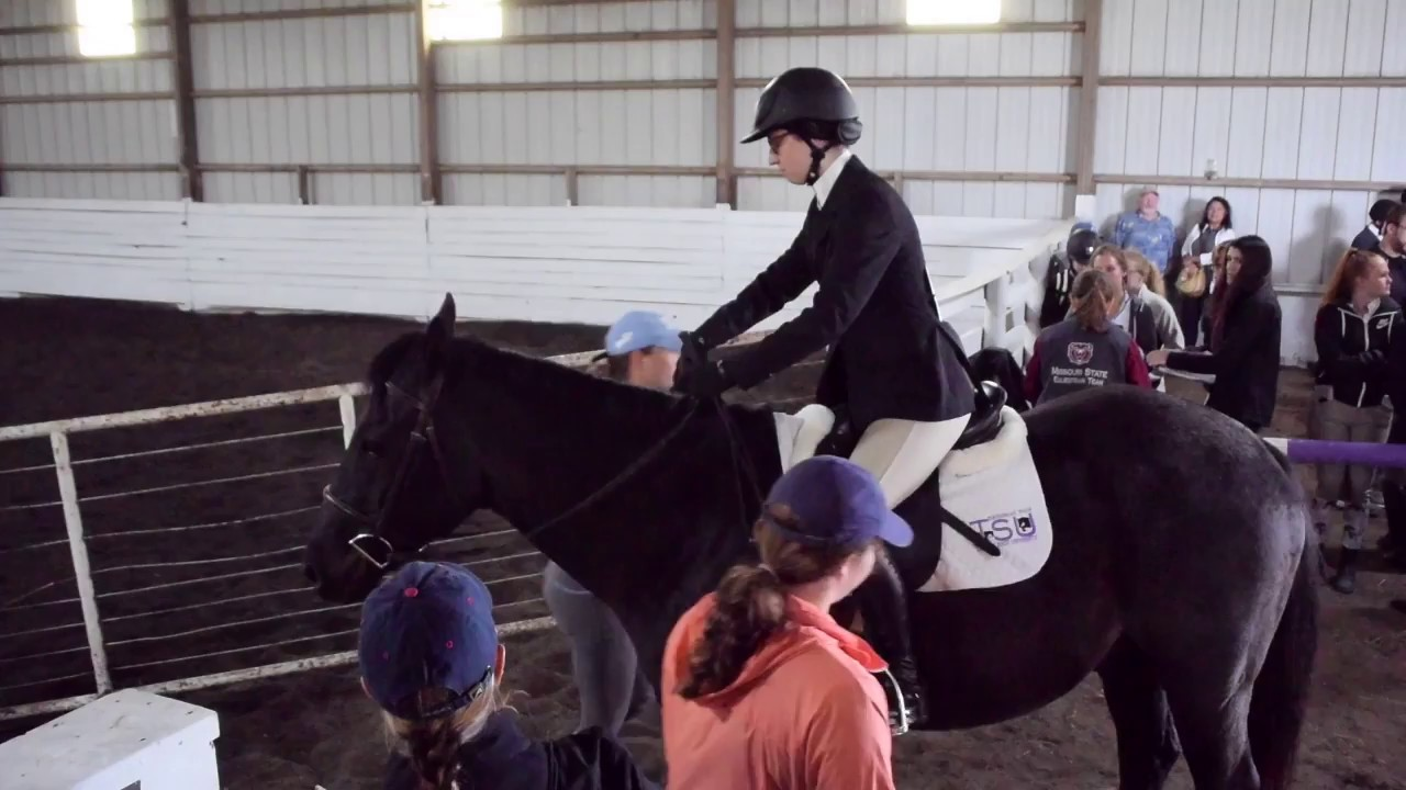 University Of Kansas Equestrian Team At The Truman State