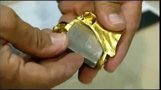 В США обнаружили фальшивые золотые слитки.
