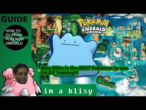 How to EV Train in Pokemon Emerald quickly