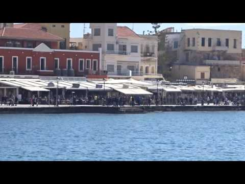 Old harbour of Chania, Crete