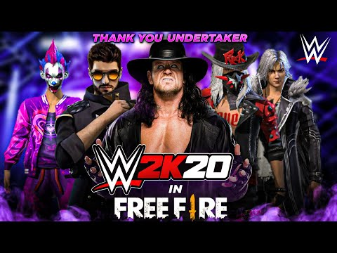 WWE In Free Fire 2020- Thank You Undertaker For Entertaining Us- Romeo Free Fire