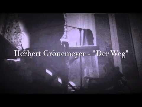 Herbert Grönemeyer - Der Weg [Lyrics]
