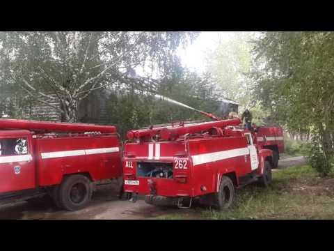 Кировград ул.Сакко и Ванцетти 25 Пожар (продолжение)