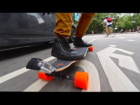 Overpowered Motorized Skateboard