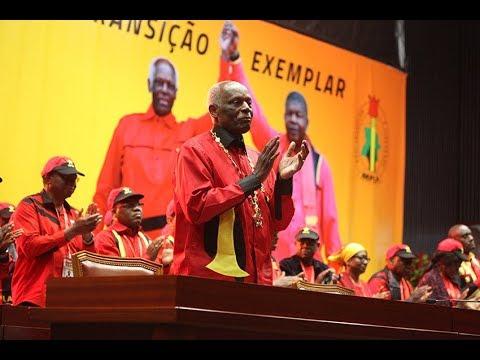 MPLA recebe poder de JES em Congresso Extraordinário