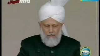 Khilafat Centenary Jalsa Salana UK - Friday Sermon - 3/6