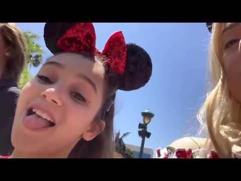 Hayley Leblanc & Coco Quinn & Emery Bingham & Corinne Joy & Sarah Dorothy Little At Disneyland!