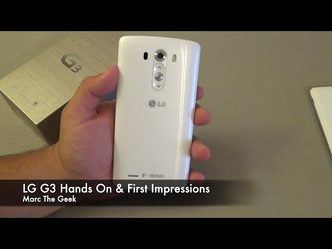 LG G3 Hands On & First Impressions (T-Mobile)