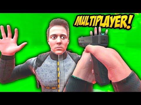 BONEWORKS MULTIPLAYER MOD IS HILARIOUS - Boneworks VR Gameplay (Funny Moments)
