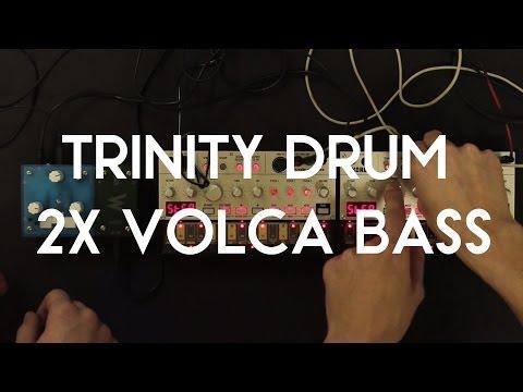 Trinity DRUM + 2x Volca Bass jam