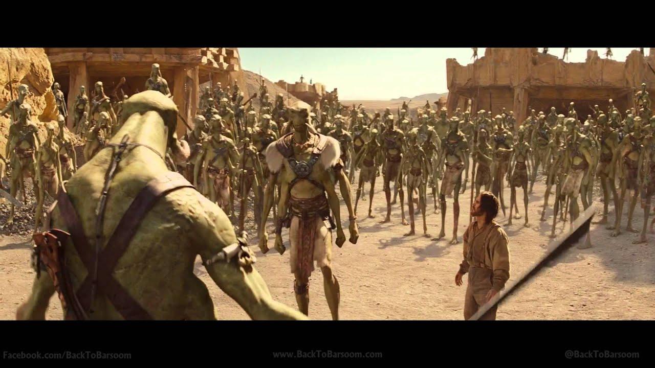 John Carter of Mars Trailer