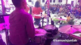 Gambar cover Waktu Tuhan - NDC Worship - GPdI Ebenhaezer Sunday Service (Drum Cam)