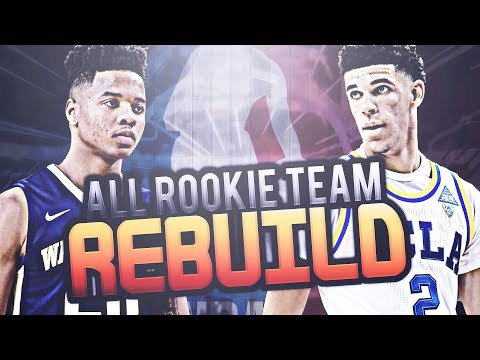 2017 ALL ROOKIE TEAM REBUILD CHALLENGE!! NBA 2K17 MY LEAGUE