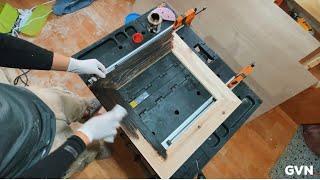 폐목재 버려진 팔레트로 나무액자 만들기 DIY | 스테…
