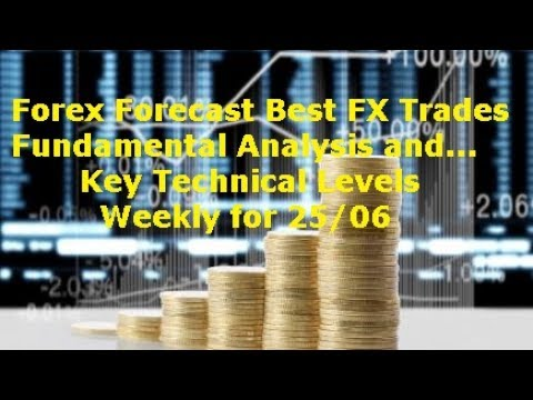 Forex Trading Forecast Best Trades Fundamental Analysis & Key Technical Levels Weekly 25/06
