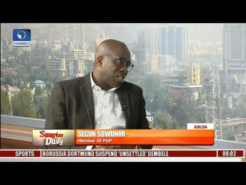 Citizens Have The Right To Call For Buhari's Resignation - Segun Sowunmi Pt 3