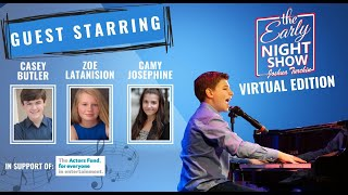 S4 Ep15 Joshua plays with Casey Butler (Finding Neverland), Zoe Latanision, and Camy Josephine