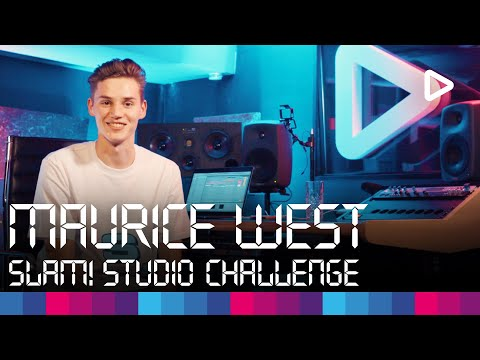 Maurice West creates a track in 1 hour | SLAM! Studio Challenge