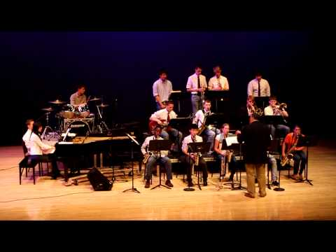 "The Jazz Band performing ""What a wonderful World"" by Louis Armstrong"