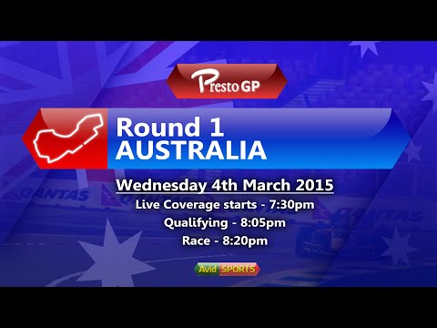 [rFactor 2] PrestoGP Season 14 Broadcast's - Round 1, Melbourne, Australia