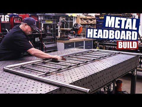 Metal Headboard Build | JIMBO'S GARAGE