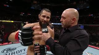 UFC 239: Хорхе Масвидаль - Слова после боя