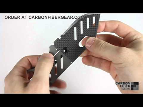 Creditor Carbon Fiber Money Clip Knife by John Kubasek