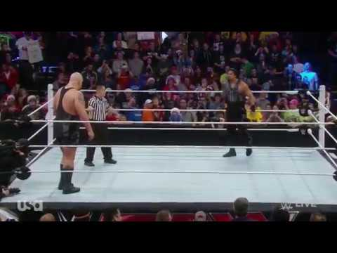 WWE Roman Reigns vs BigShow - Superman Punch Full