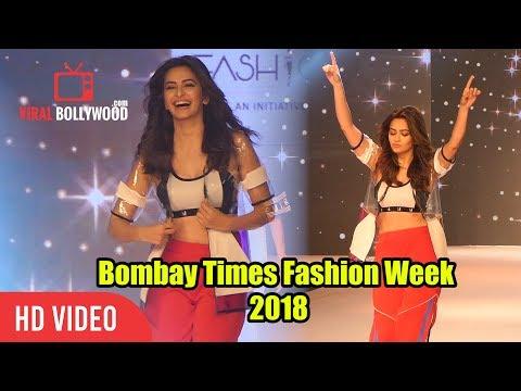 Gorgeous kriti kharbanda Ramp Walk | Bombay Times Fashion Week 2018