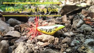 Download Video Making jump frog lure | jump frog geol - part #1 MP3 3GP MP4