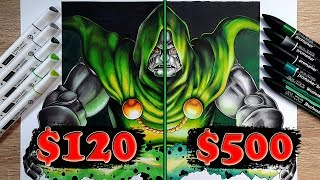$120 vs $500 MARKER Art | Arteza vs Pro Marker - Which Is WORTH IT..?