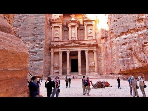 Petra, Jordania Turismo - Jordan tourism / travel - El Tesoro The Treasure - Monasterio Monastery