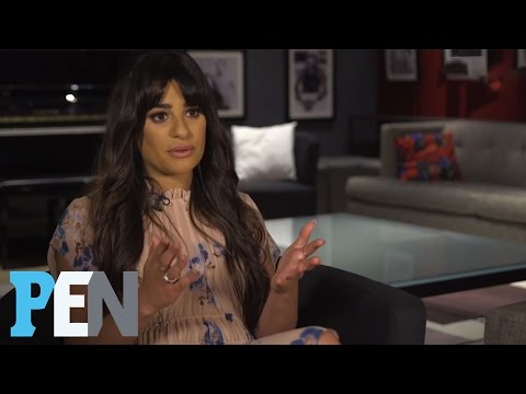 Lea Michele Calls Céline Dion An 'Incredible Inspiration' | PEN | Entertainment Weekly