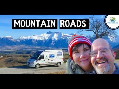 Mountain Roads -VANLIFE France - Overlanding VANLIFE Adventure drive around the world