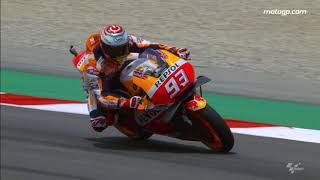 2018 Catalan GP - Honda in action