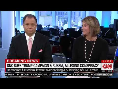 "CNN's Chief Political Analyst: DNC recent Russia lawsuit a ""100% stunt"" to raise money"