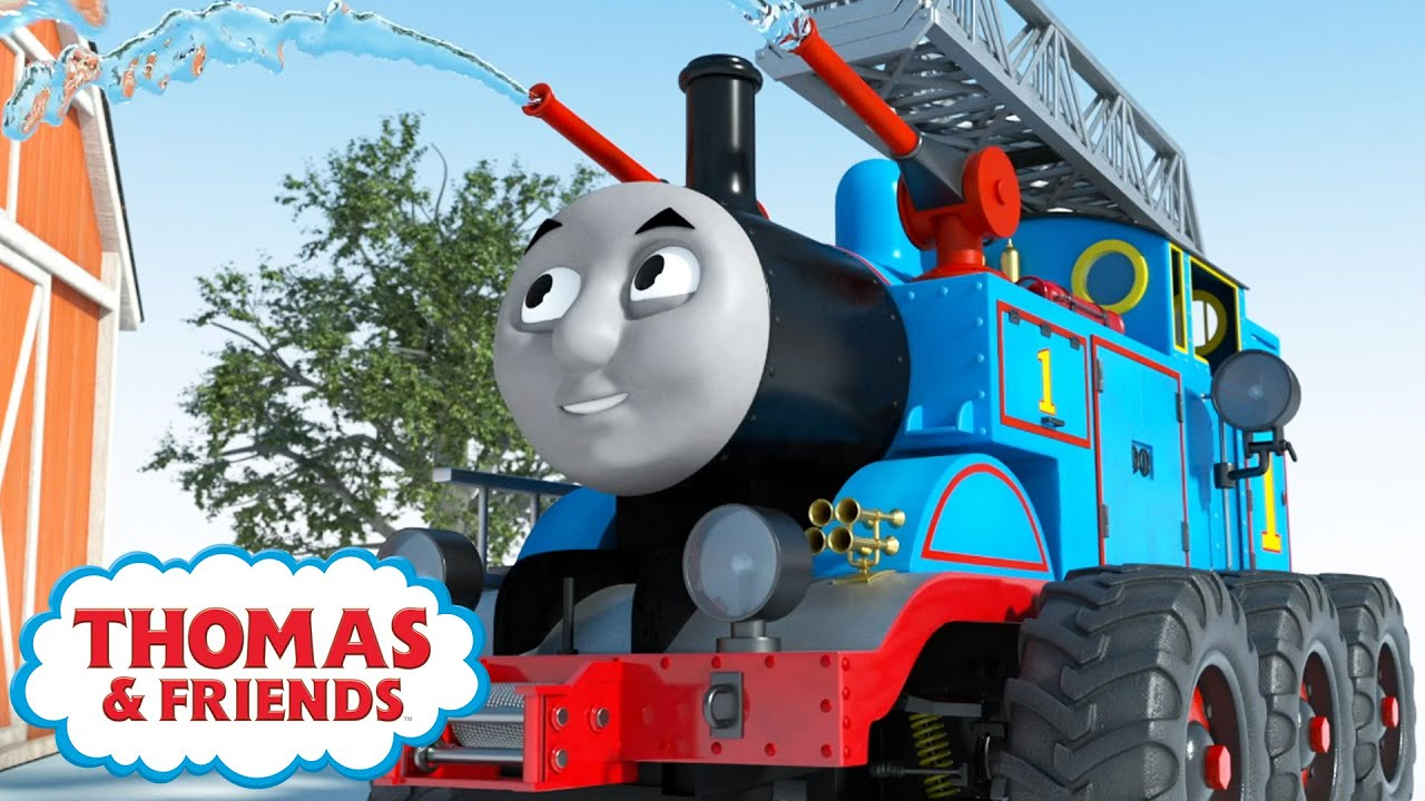 Download Thomas the Rescue Engine   Cartoon Compilation   Magical Birthday Wishes   Thomas & Friends™