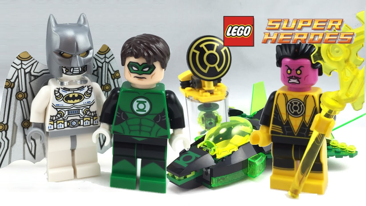 LEGO Green Lantern vs Sinestro set review! 76025 - YouTube