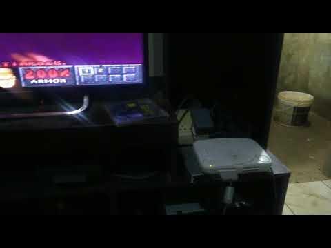 VIDEO TESTANDO PLAYSTATION 1 + JOGO ORIGINAL  DOOM