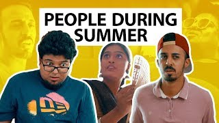 Things People Do During Summer | Jordindian