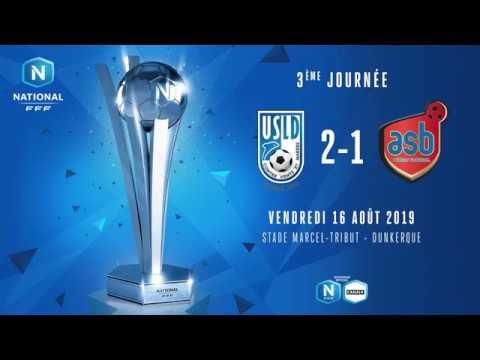 J3 : USL Dunkerque – AS Béziers (2-1), le résumé