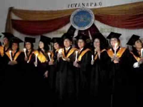 Graduación de Maria Julia Romero Meza