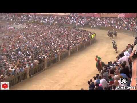 Palio di Siena 16 Agosto 2015 dell' Assunta vince la Selva con TITTIA su Polonski