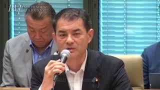 参加した国民民主党、日本維新の会は「ゆ党」!?「改革すべきは野党の質問に答えない総理や閣僚の姿勢では?」とのIWJの質問はスルー!「平成のうちに」衆議院改革実現会議【第3回】 2018.7.12