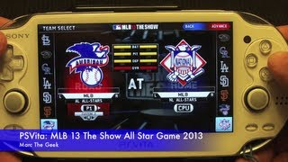 PSVita: MLB 13 The Show All Star Game 2013